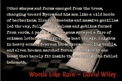 Words Like Rain