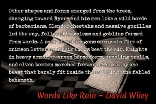 Words Like Rain