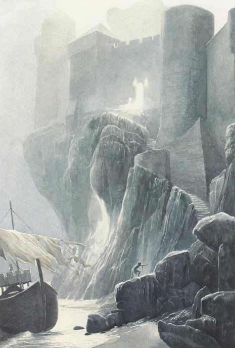Alan Lee Shipwreck