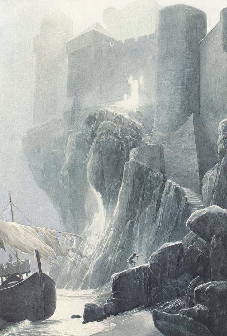 Alan Lee Shipwreck