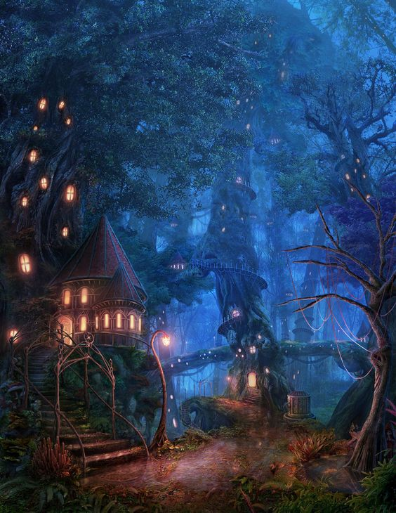 Tree House Forest by RealNam