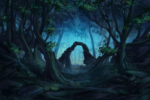 """""""The Blue Forest"""" by Cassiopeiaart"""