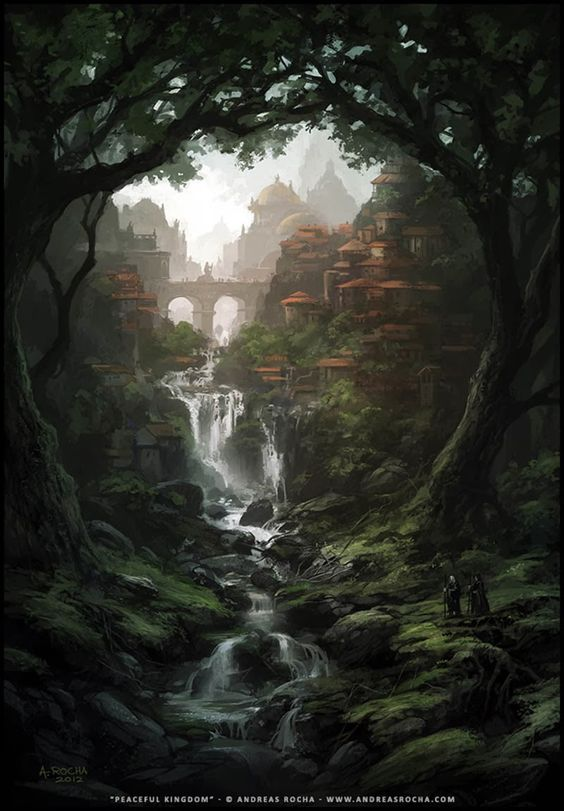 """Peaceful Kingdom"" by Andreas Rocha"