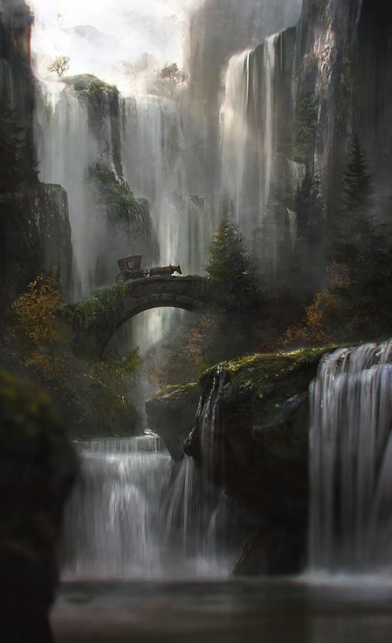"""Waterfall"" by Jordi Gonzalez Escamilla"