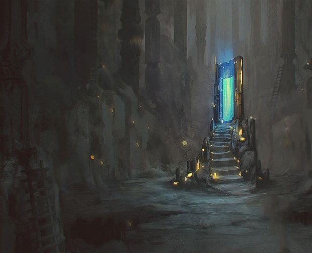 """Blue Gate"" by Lakehurwitz"